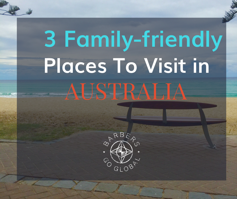 Family-friendly places in Australia