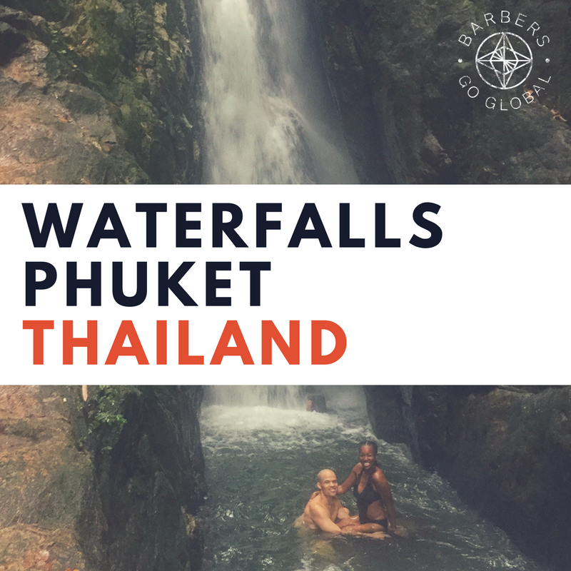 Waterfalls in Phuket, Thailand